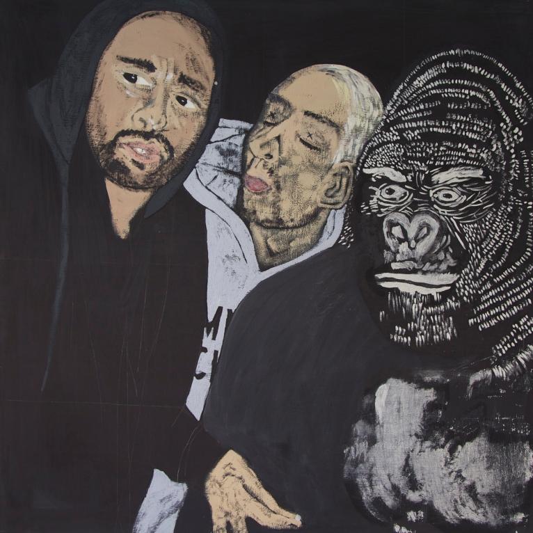#5 Zukunft Oil on Canvas 140x140